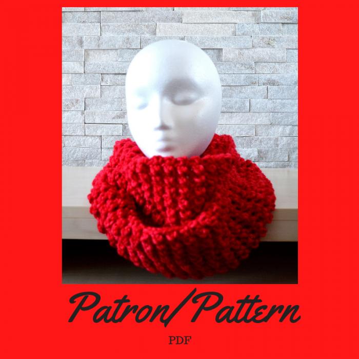 Patron crochet - Foulard infini
