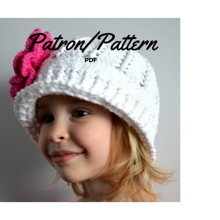 Patron crochet- Chapeau Panama