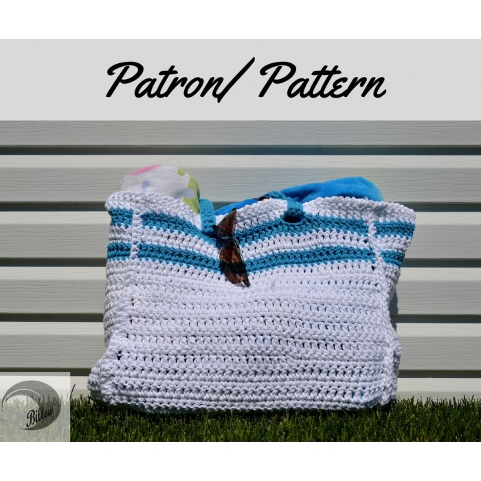 Patron crochet - Sac de transport