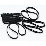3 Serre-têtes et 5 élastiques à cheveux - ensemble de 8 pièces